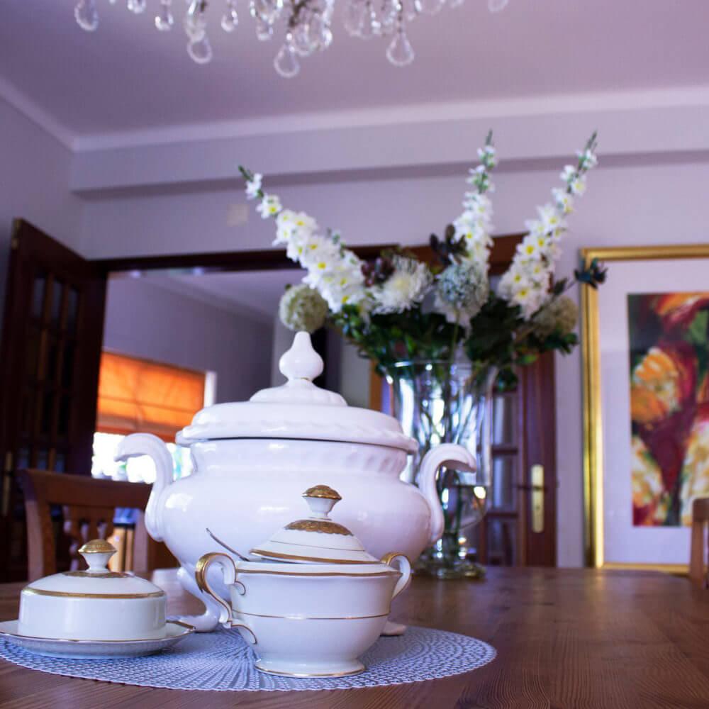 Die Einrichtung des Hauses ist klassisch und modern, so dass sich jeder Gast wohlfühlen kann