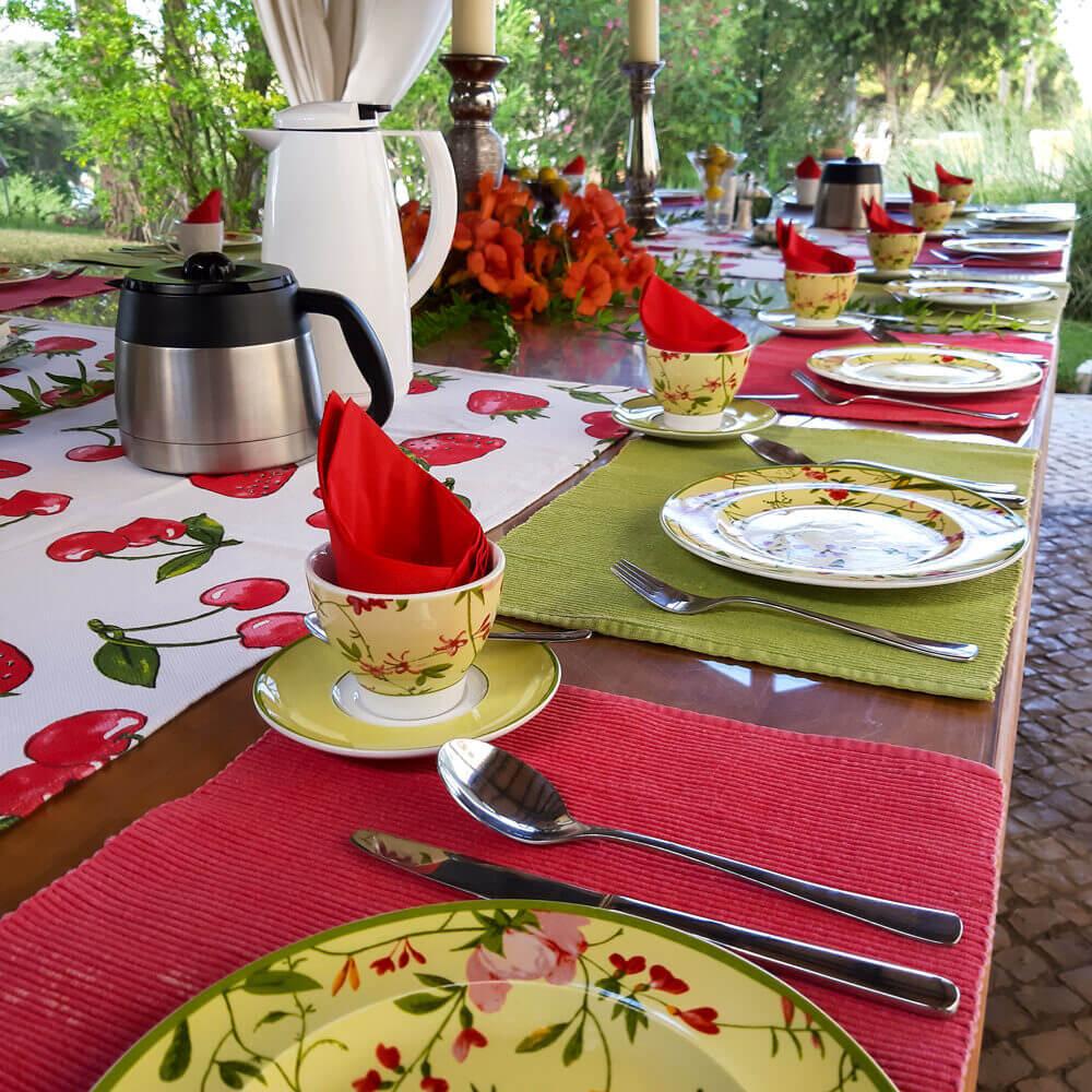 Mahlzeiten im Garten