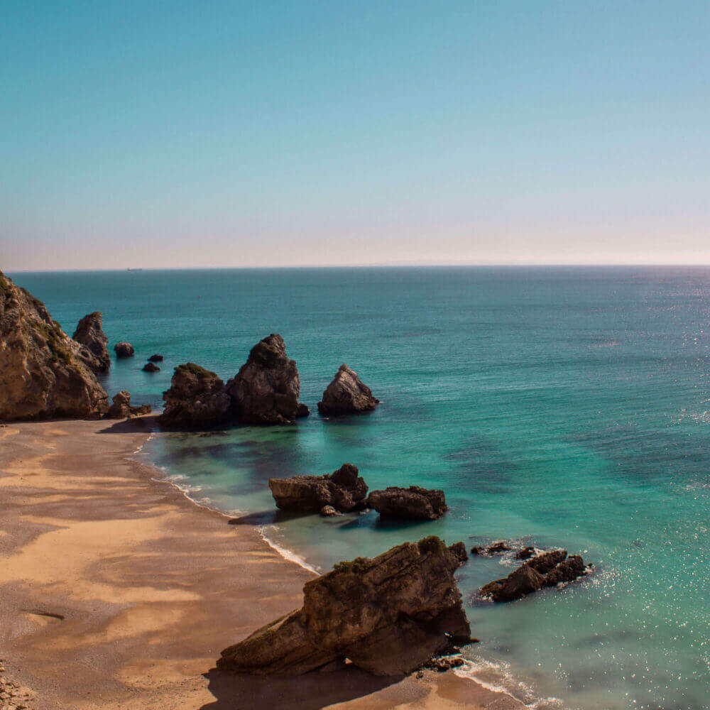 Ribeiro do Cavalo Strand mit kristallklarem Wasser