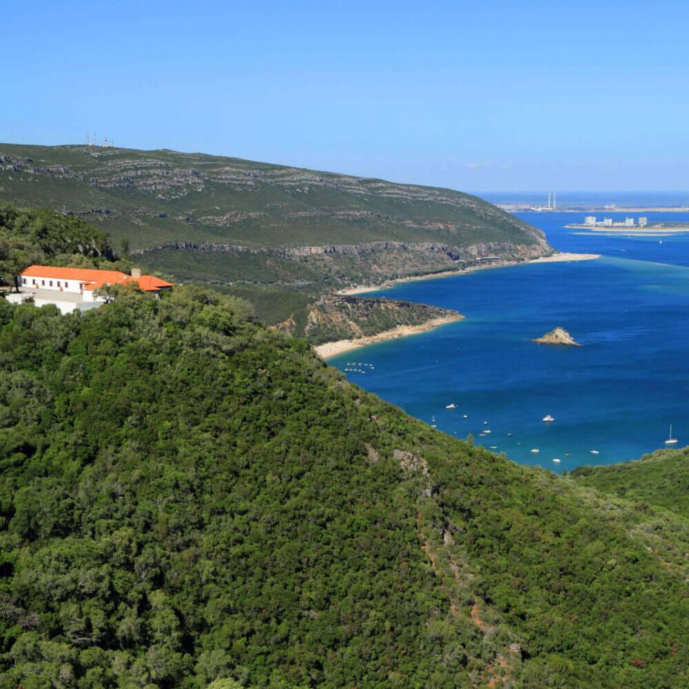 Arrabida Natural Park in Setubal, Portugal