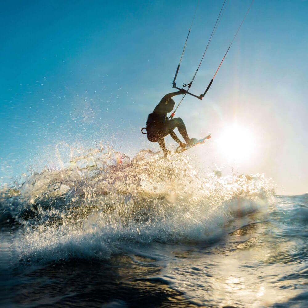 Kitesurfing Lagoa de Albufeira